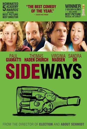 sideways movie poster 2 - Movie Night-Prosser